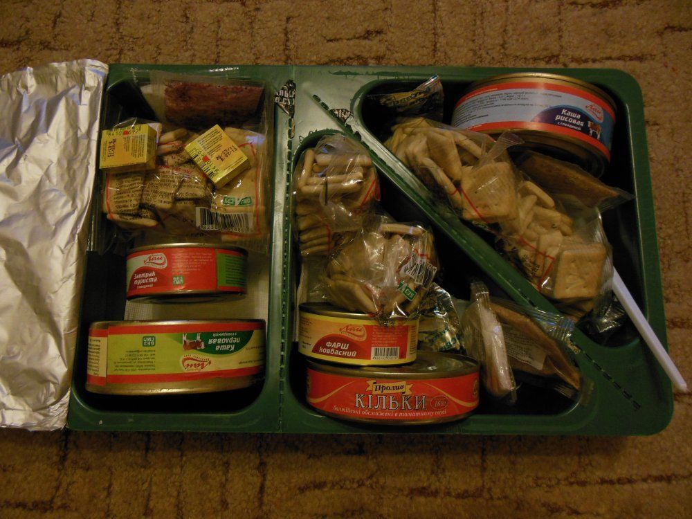 乌克兰单兵食品户外干粮战斗口粮户外食品乌克兰直邮