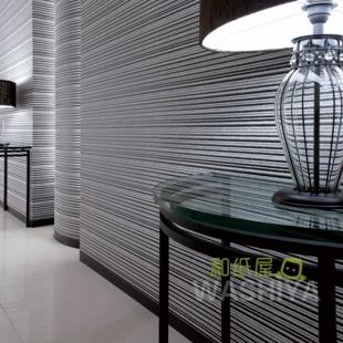 和纸屋壁纸本铺 流动时光 线条美 客厅电视背景墙 进口日本墙纸