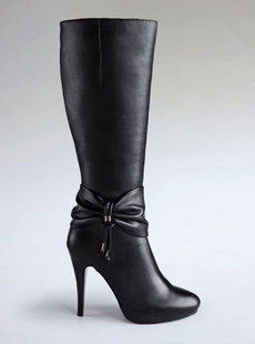 Dream ba Sally elegant fair maiden feet tall canister boots cowhide increased female 123211306