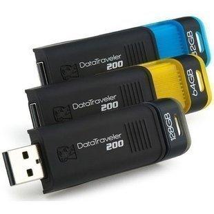 USB накопитель KingSton DT200 64g USB 2.0 64 Гб