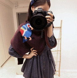 korean style floral print dress slim skirt