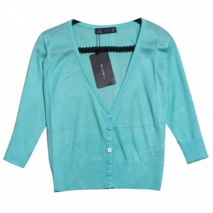 Special offer spring/summer 2012 sleeve knit shirt in  new  conditioning COPINE thin COPINE woman taking  Sun outside  summer shirt