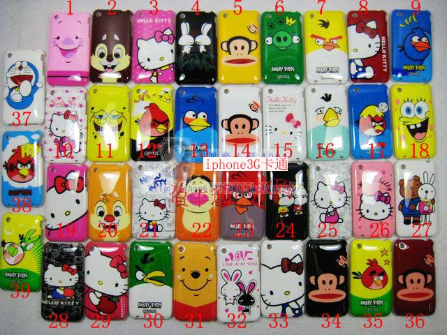 Apple чехол Color covers Iphone3g 3GS Color covers