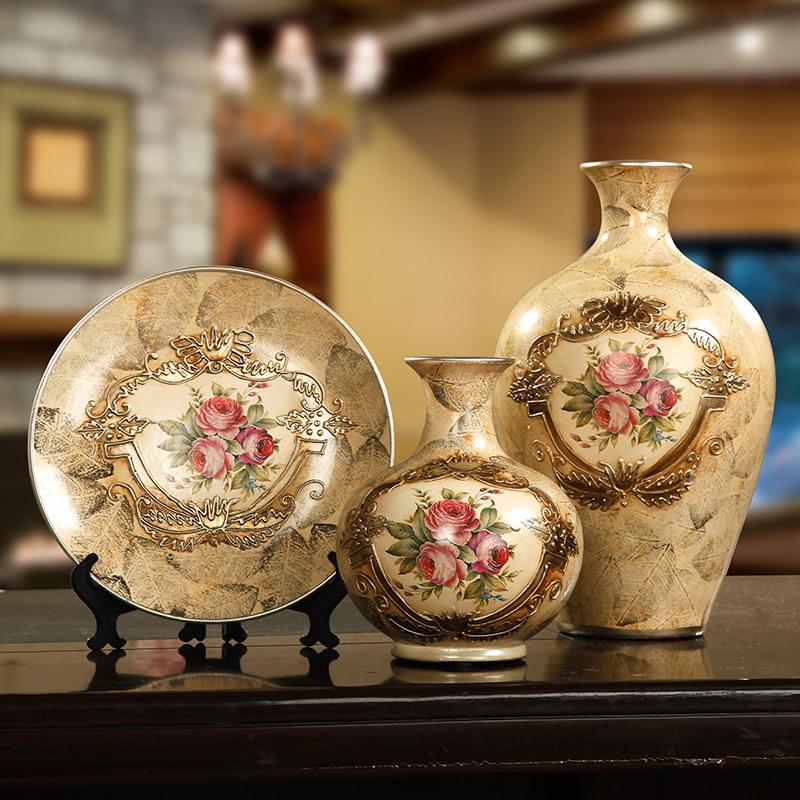 正品打折欧式陶瓷客厅电视柜酒柜装饰品摆件家居饰品