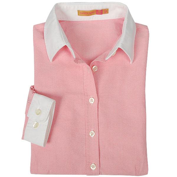 женская рубашка Jamesking ad9310009 Городской стиль Длинный рукав Однотонный цвет