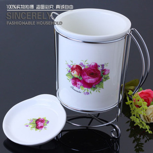 Bone bone bone China porcelain chopsticks cages chopsticks tube porcelain chopsticks chopsticks boxes household supplies