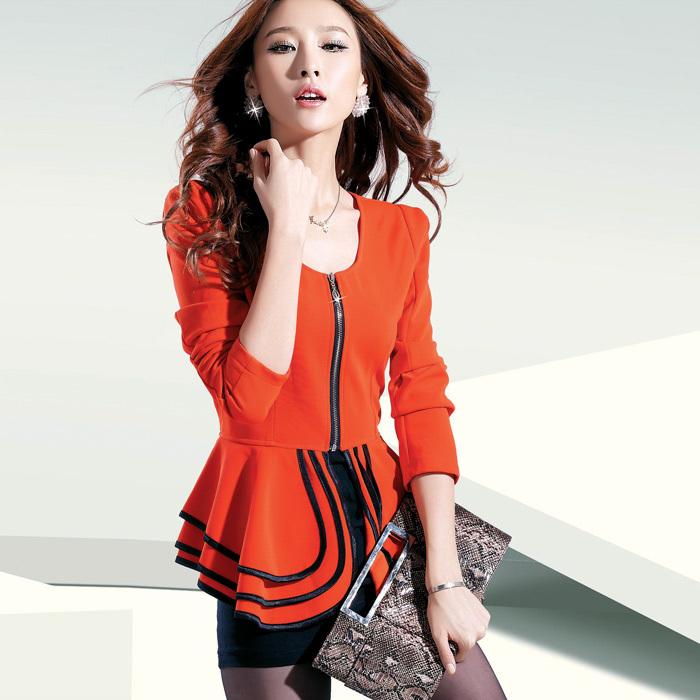 Офисный костюм 2012 Осень новой женской тонкий OL с длинным рукавом платье тонкий сексуальный корейских женщин юбка костюм Весна 2012 Длинный рукав А-образная юбка