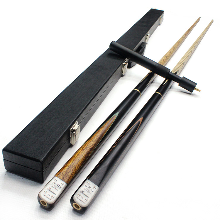 Omin Casual Professional Durable Wooden Snooker Cue