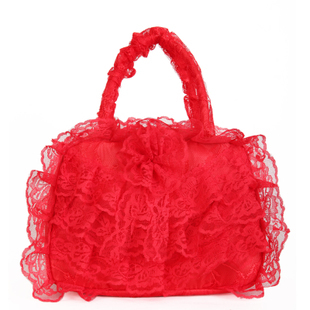 Сумка 2012 новый стиль сумки невесты, вечерние платья подружек кружева женщин молнию мешок узел свадьба утварь большой красной сумки