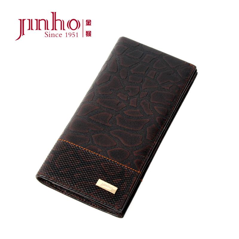 Бумажник Jinho jp1969 2013 Длинный бумажник Муж. Кожа быка
