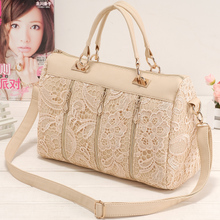 Handbags spring new European and American Princess lace bag Japan and South Korea 2013 portable shoulder retro bag diagonal package