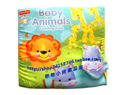 费雪 点数布书 Baby Animals Counting Book