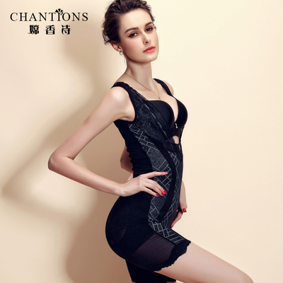 Chang Hong poetry luxury leotard body shaping thin waist abdomen hips Bottom sculpting clothing Siamese boxer