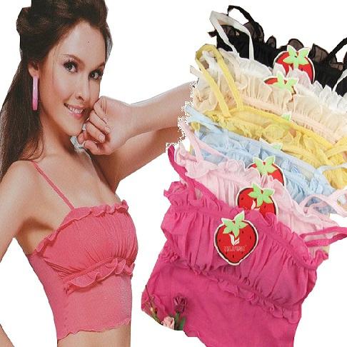 Короткий топ Летом конфеты цветные спиннинг оборудовать NET развертки/одно/двух груди завернутый многоцветный