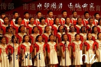 演出服小学生中学生朗诵服舞蹈服 儿童表演服大合唱服装图片