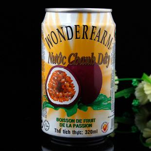 越南特产 零食 原装进口食品 大农庄饮料系列之百香果汁 320ml