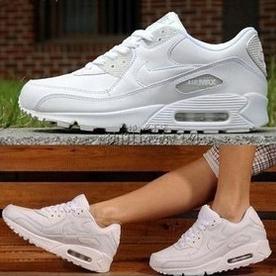 Кроссовки Nike 1632501 # 3339140 # CLN Air Max90 2012 Унисекс Осень 2012 Сетка