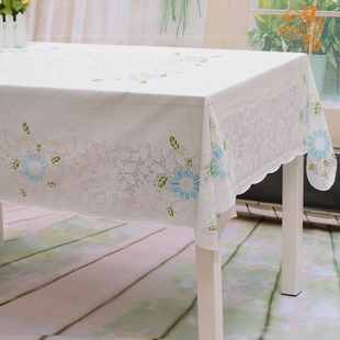 Agile Square Garden coffee table protection of waterproof PVC tablecloth tablecloth table cloth lace-free wash waterproof tablecloths