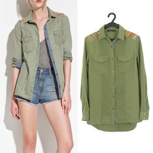 женская рубашка Zara Trf 2012