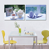 Wang painting Seductive charm apple fruit decoration frameless painting wall painting wall painting Dining Room Dining Room Kitchen Home