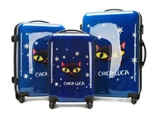 可爱猫咪款旅行箱