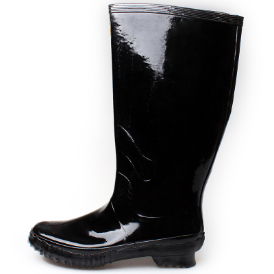 3539 Tall genuine outdoor male overshoes rain boots rubber sole boots big yards long-barreled high-top rubber boots rubber water shoes