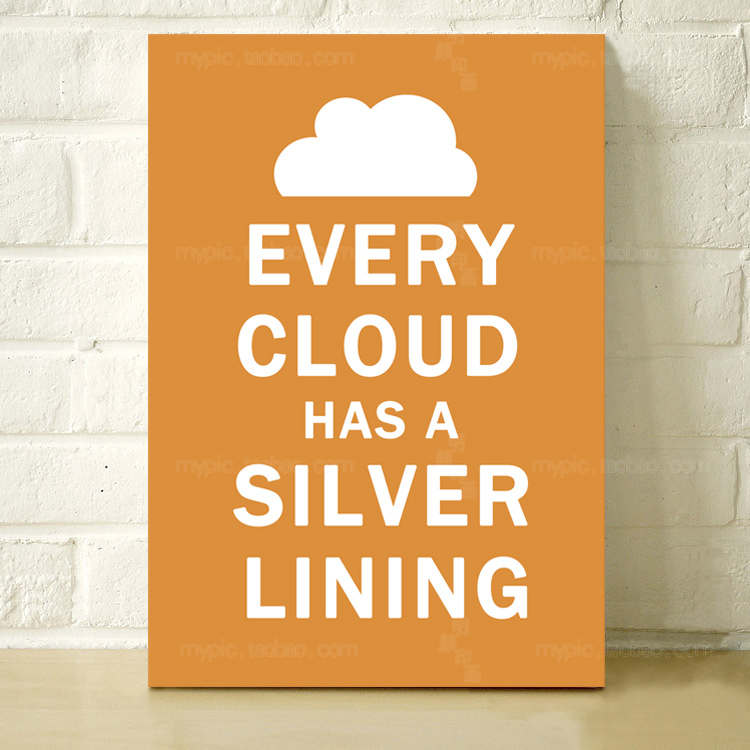 Фреска Ming Yan Yin pictures mypo0006 Every Cloud Has Silver Lining