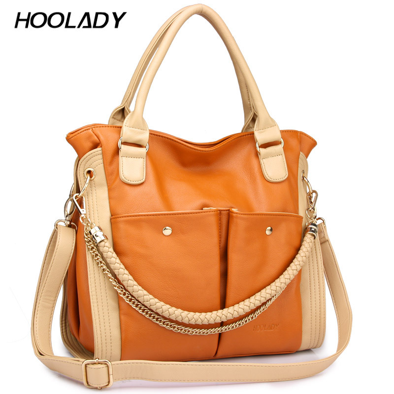 Hoolady 2012 New style female bags of korean version bags with casual and fashionable