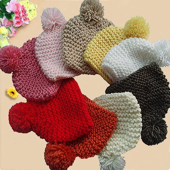 Головной убор Теплая забота теплой ананас шляпа ручной густой шерсти шляпа дамы Cap Вязаные/трикотажные шапки