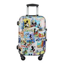 迪士尼正品米奇拉杆箱 大容量卡通旅行箱 万向轮铝框箱行李箱拖箱