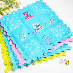 TJ Korean cartoon ice pad car seat Notebook Cooling Pad 600g