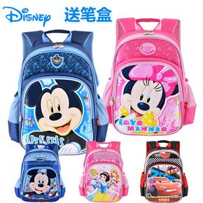 米奇2014新款迪士尼书包小学生书包1-3年级男女儿童双肩背包2-4