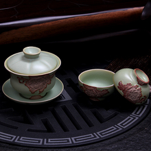Source to double ceramic tea set stone floats your CiHu personal letter the pot office leisure time open your kiln glaze