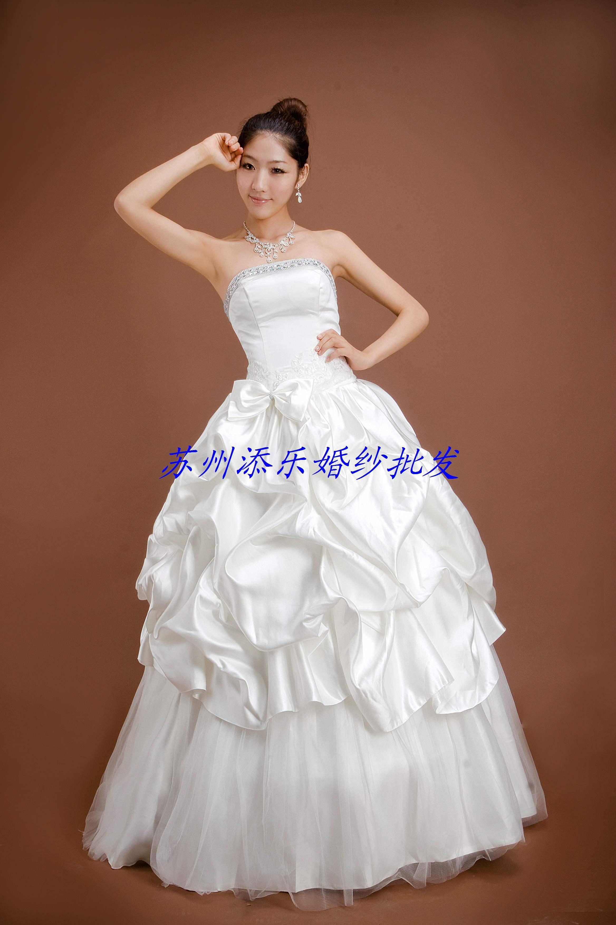 Свадебное платье Shili Shantang 1015 CX1015 150 Атлас, сатин Принцесса с кринолином