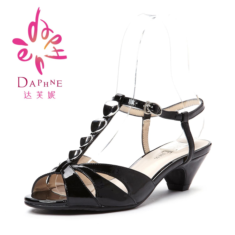 Босоножки Daphne 1130021 PU Средний каблук (3 -5 см) Искусственная кожа