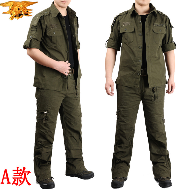 Seals uniform set camouflage suit men's special suit male American outdoor training dress suit