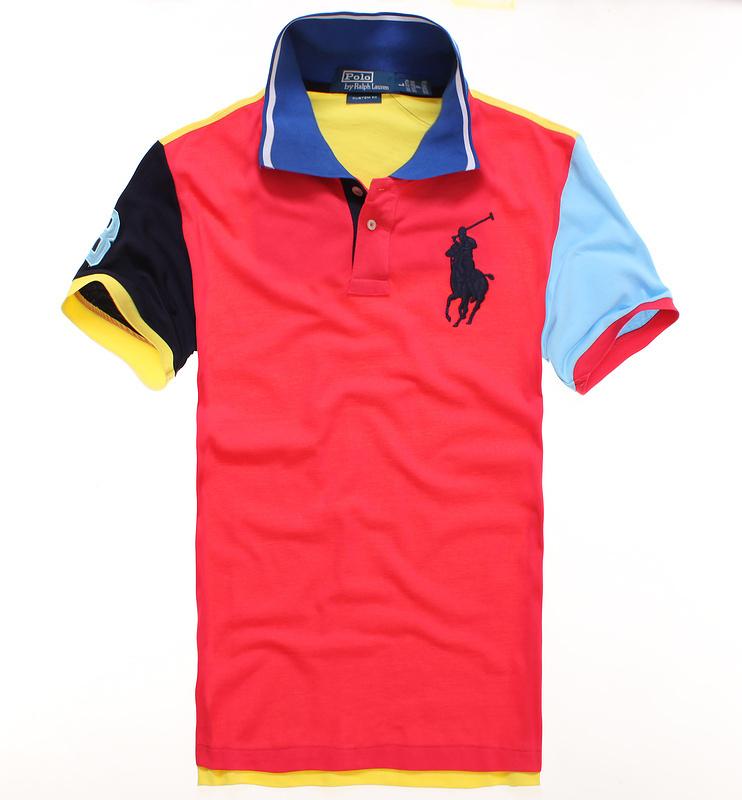 Футболка мужская Polo Polo 2013 Короткие рукава (длина рукава <35см) КОНТРАСТ цвета шить (разных цветов) Классический рукав 2013