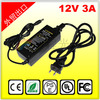 12V 3A 36W Plastic Switching Power Supply AC Adapter