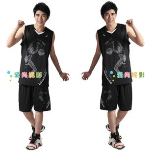 New cool men's basketball suits suit clothes clothing men's basketball basketball basketball match serving a six-color lining