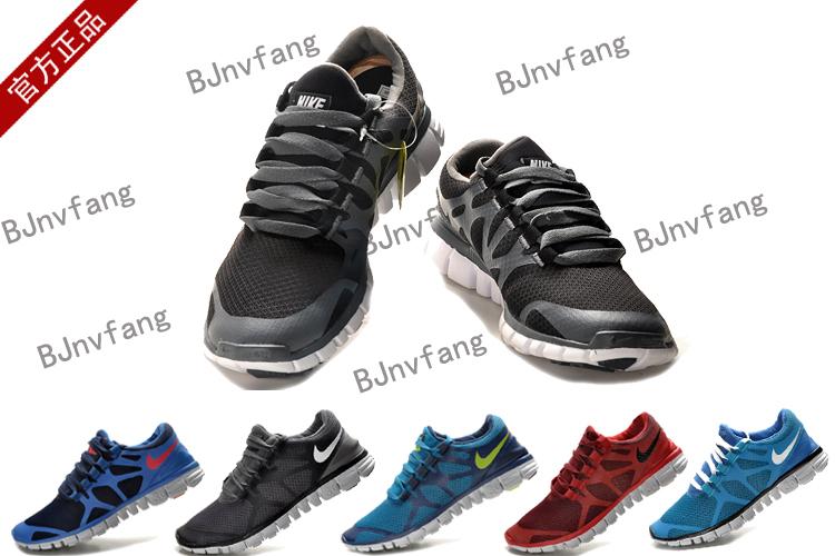 кроссовки Nike FREE 3.0 V3 Сетка Летом 2012 года Унисекс Износостойкая резина