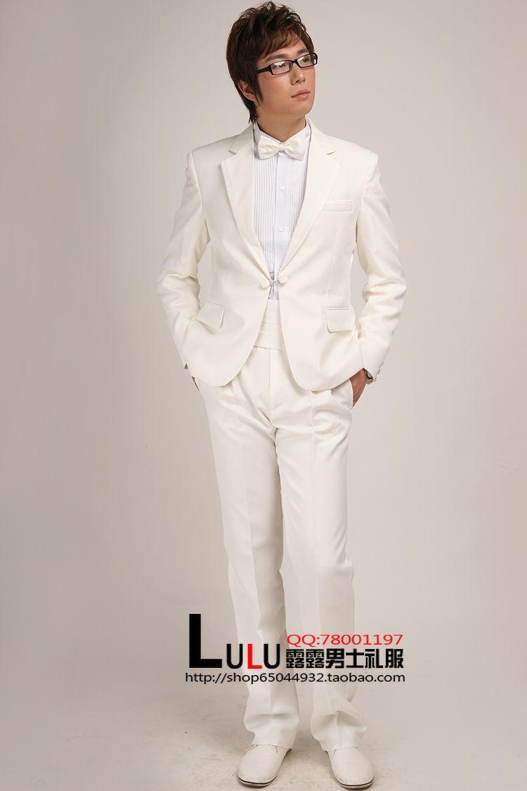 男士礼服结婚礼 主持人礼服 演出服装 影楼服装