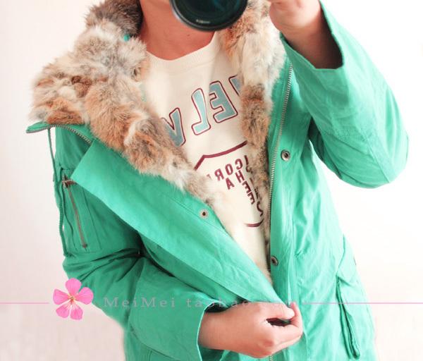 Женская утепленная куртка Облегающий покрой Длинный рукав