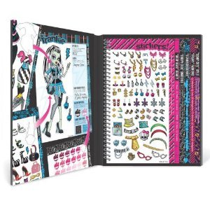 кукла MATTEL MONSTER  Monster High Sticker Stylist