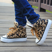 2012 new autumn winter influx of high help shoes Lady Leopard Europe with increased leisure platform shoes women's shoes