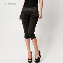 2013 new spring and summer women's fashion OL fashion harem pant shorts pants boots / 8018