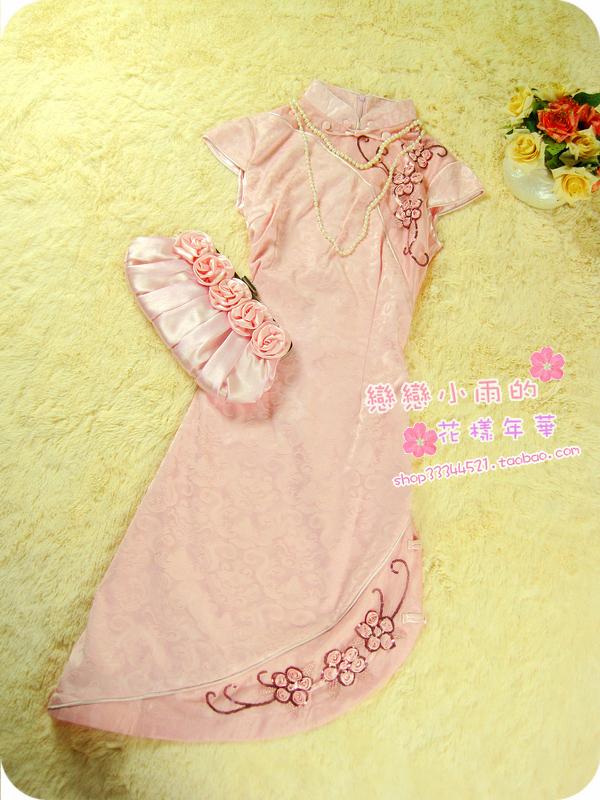 Платье Ципао   2011 1C-033D