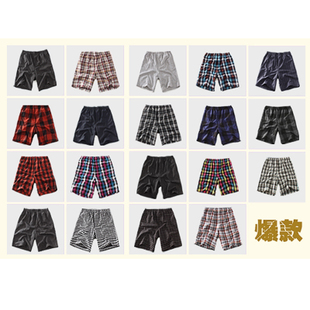 Barn-2012 Summer new style Ralph Lauren Plaid lounge pants/shorts X0690-X16
