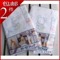 【西松屋】宝宝高密度全棉3层纱布浴巾(x40)婴幼儿童盖被 130*60