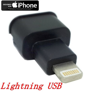 苹果ipad4 ipad mini iphone 5 全功能Lightning USB公对母转接头