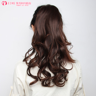 Daixiu Pinus massoniana curly hair wig long fluffy volume bound Masson long 2,169